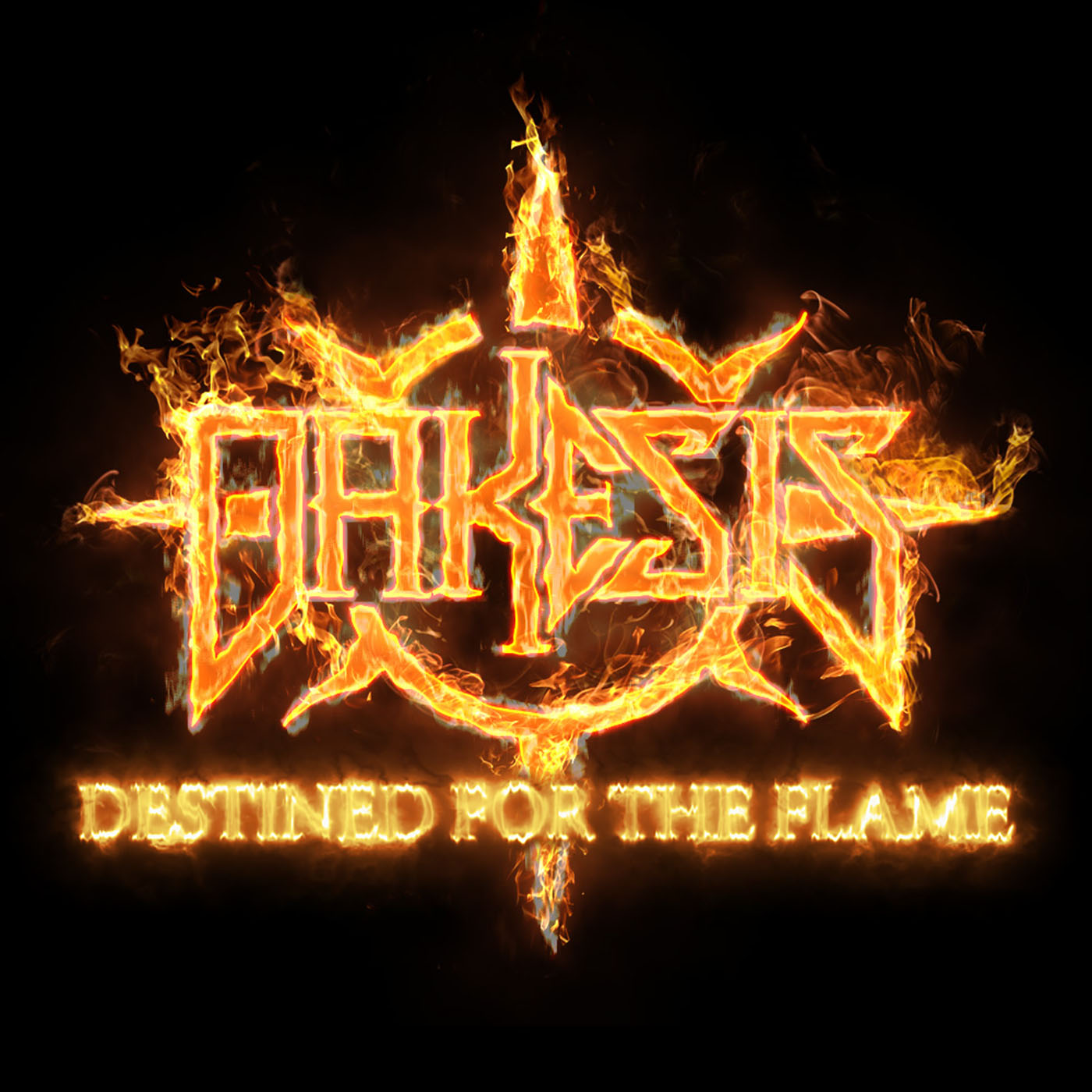 Dakesis Destined For The Flame  Single Cover