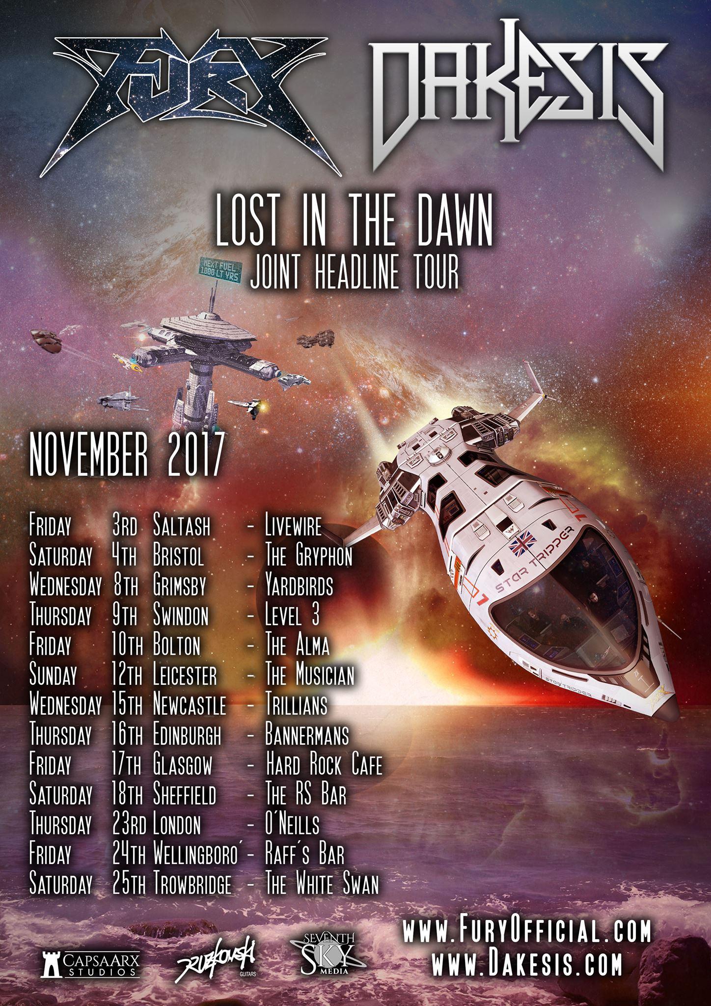 Dakesis Fury UK Tour